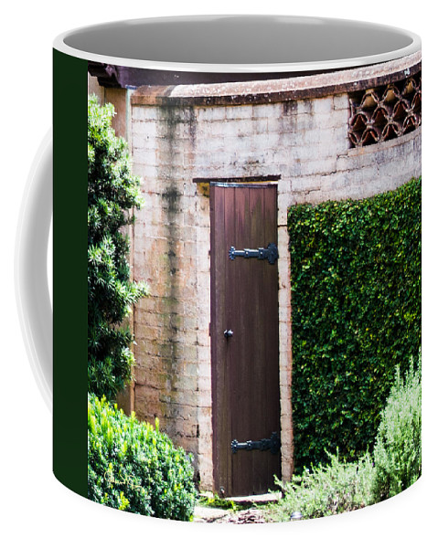 susan Molnar Coffee Mug featuring the photograph Door To The Past by Susan Molnar