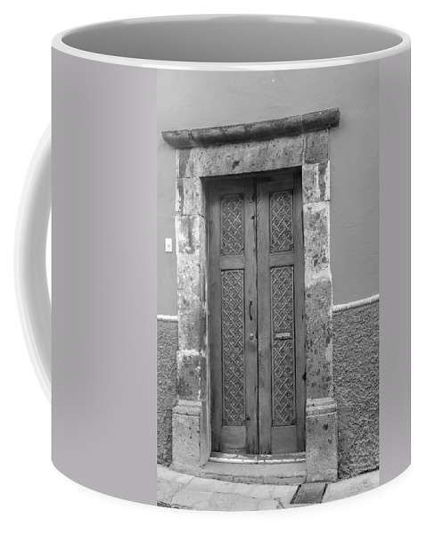 Coffee Mug featuring the photograph Doorway In San Miguel De Allende by Cathy Anderson