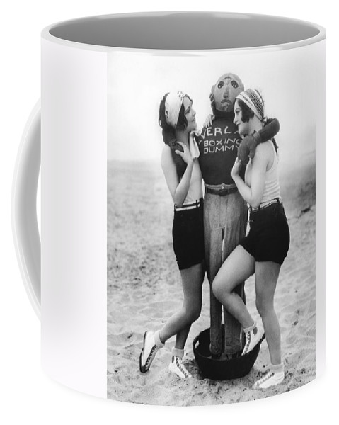 1927 Coffee Mug featuring the photograph Dorothy Sebastian And Crawford by Underwood Archives