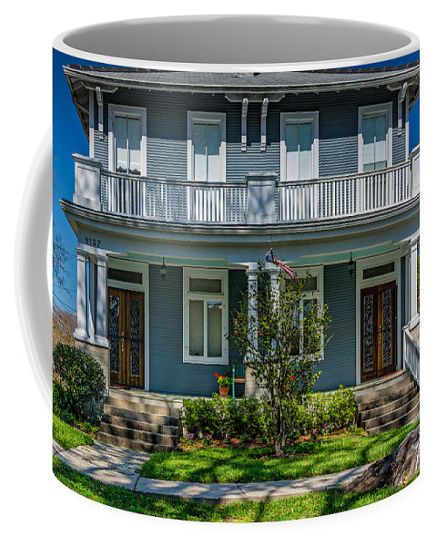Home Coffee Mug featuring the photograph Double Barreled Shotgun by Steve Harrington