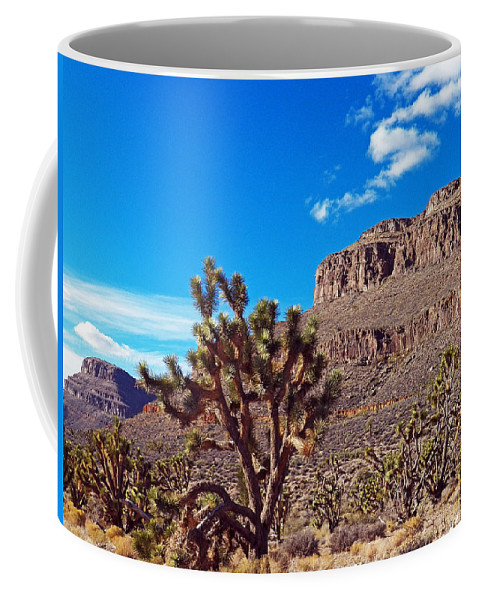 Nevada Coffee Mug featuring the photograph Doubletop Landscape by Jennifer Robin