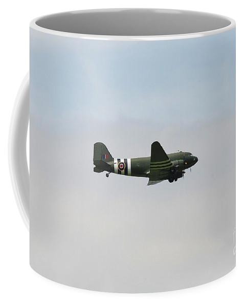 Dakota Coffee Mug featuring the photograph Douglas C47 Dakota Tenterden by David Fowler