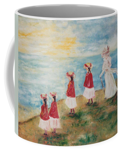 Coffee Mug featuring the painting Dover by Lord Frederick Lyle Morris