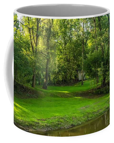 Steve Harrington Coffee Mug featuring the photograph Down By The River by Steve Harrington