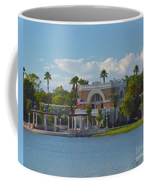 Station Coffee Mug featuring the photograph Down By The Station by Carol Bradley