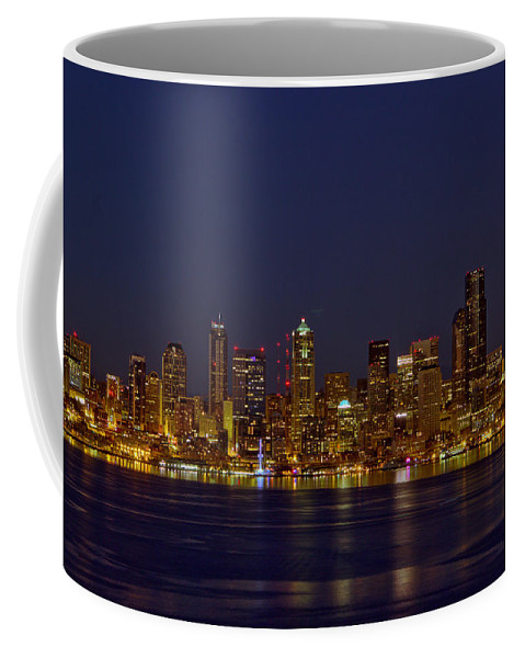 Landscape Coffee Mug featuring the photograph Downtown by Marv Russell