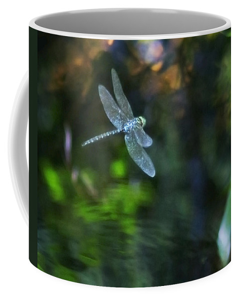 Dragonfly Coffee Mug featuring the photograph Dragonfly No 1 by Belinda Greb