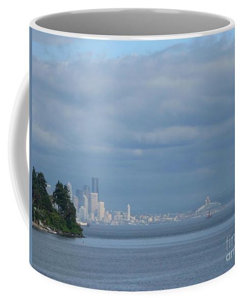 Seattle Coffee Mug featuring the photograph Dream City by Arlene Carmel