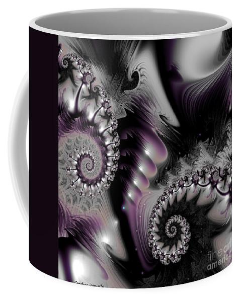 Art Coffee Mug featuring the digital art Dream Sequence 9 by Candice Danielle Hughes