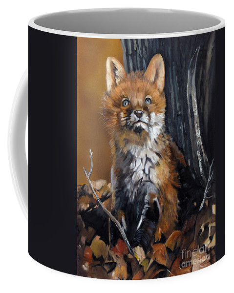 Southwest Art Coffee Mug featuring the painting Dreamer by J W Baker