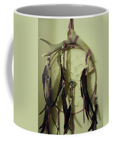 Purple Coffee Mug featuring the photograph Dreaming In Purple by Lovina Wright