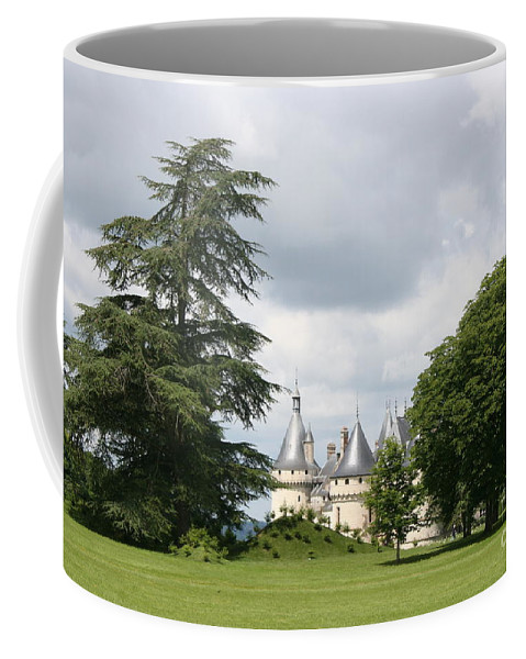 Palace Coffee Mug featuring the photograph Dreamlike - Chateau Chaumont by Christiane Schulze Art And Photography