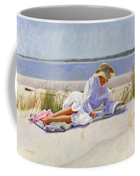 Impressionist Coffee Mug featuring the painting Dreams Of Fair Women I by Candace Lovely