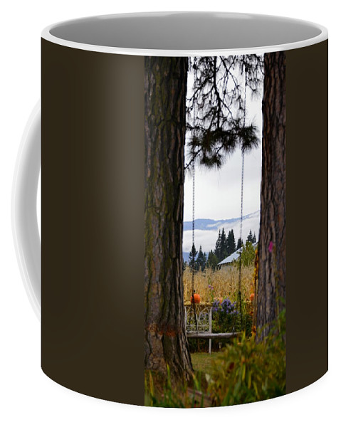 Hood River Coffee Mug featuring the photograph Dreams Of The Swing by Image Takers Photography LLC - Carol Haddon