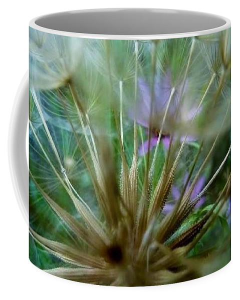 Photo Of Flowers Through Fairy Wishes. Flora Coffee Mug featuring the photograph Dreamy Fairy Wishes by Susan Garren