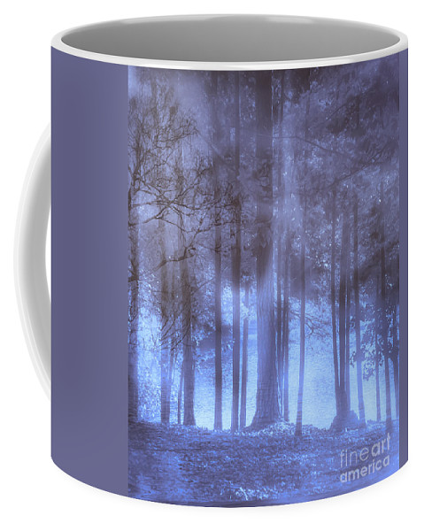 Dream Coffee Mug featuring the photograph Dreamy Forest by Scott Hervieux