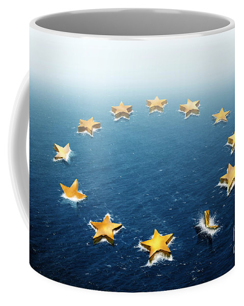 Bankruptcy Coffee Mug featuring the photograph Drifting Europe by Carlos Caetano