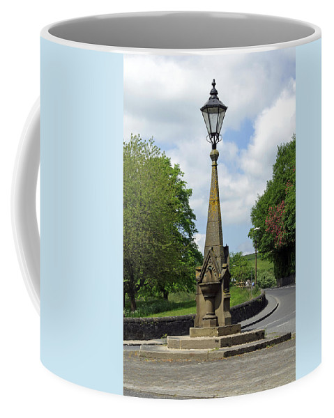 Derbyshire Coffee Mug featuring the photograph Drinking Fountain - Bakewell by Rod Johnson