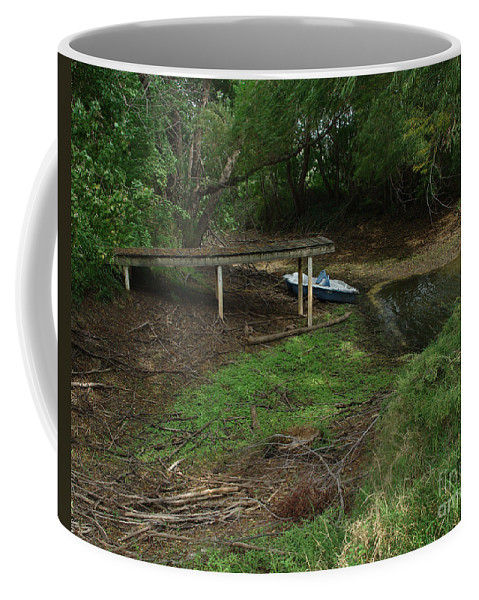 Angling Coffee Mug featuring the photograph Dry Docked by Peter Piatt