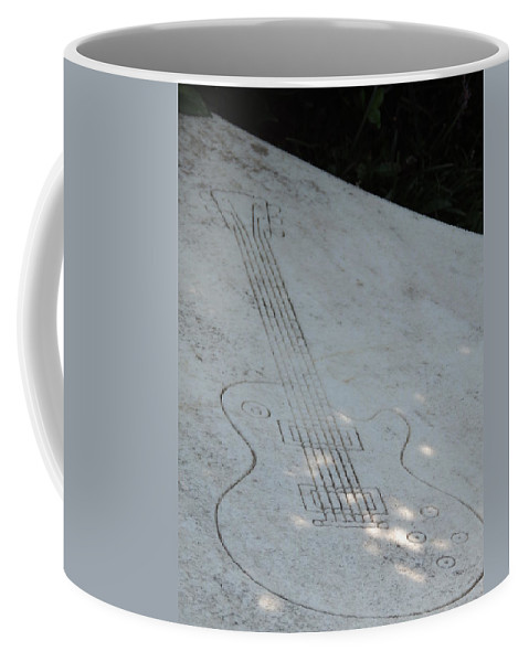 Duane Allman Coffee Mug featuring the photograph Duane's Still Playin by Aaron Martens