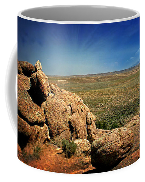 West Coffee Mug featuring the photograph Dubois Landscape by Marty Koch