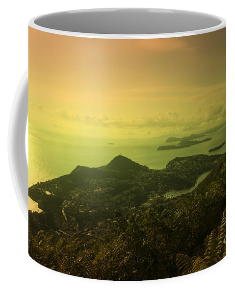 Dubrovnik Coffee Mug featuring the photograph Dubrovnik Islands by Rob Hawkins