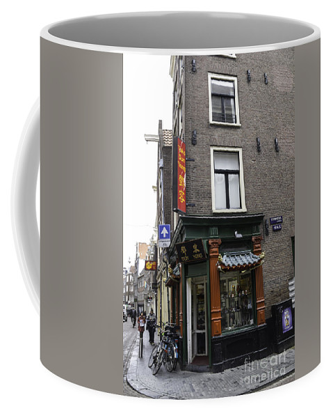 2014 Coffee Mug featuring the photograph Dun Yong Amsterdam by Teresa Mucha