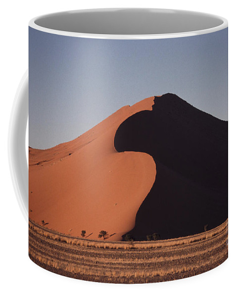 Sand Dune Coffee Mug featuring the photograph Dune 45 Morning by Liz Leyden