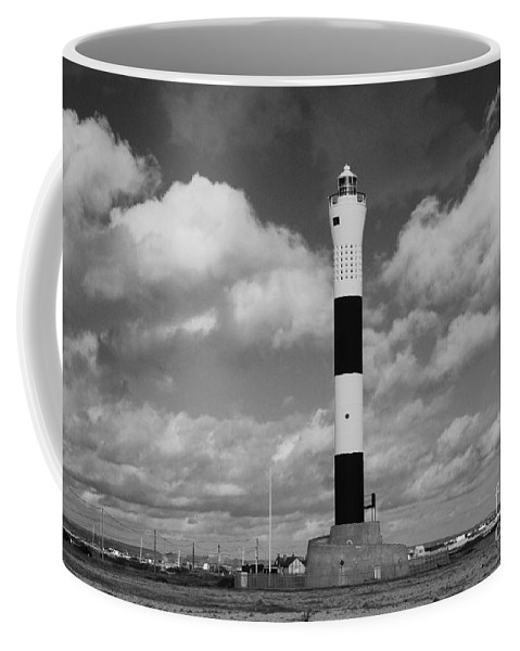 Dungeness Coffee Mug featuring the photograph Dungeness Lighthouse by David Fowler