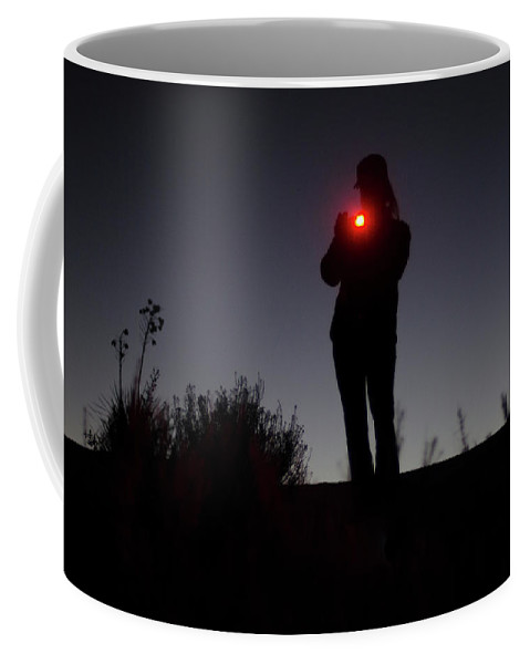 30-34 Years Coffee Mug featuring the photograph Dusk Settles Over The White Sands by Jeremy Wade Shockley