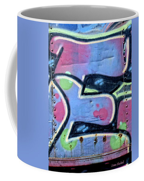 Graffiti Coffee Mug featuring the photograph E Is For Equality by Donna Blackhall
