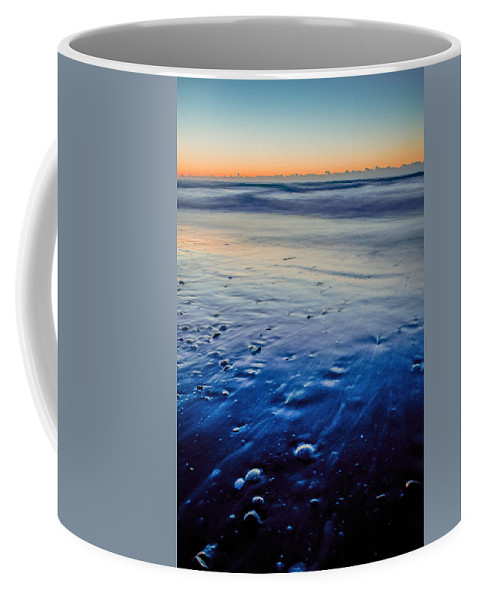 Beach Coffee Mug featuring the photograph Early Morning On A Sea Coast by Alex Grichenko