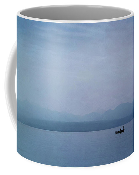 Lake Coffee Mug featuring the photograph Early Morning On Lake Leman by Jean-Pierre Ducondi