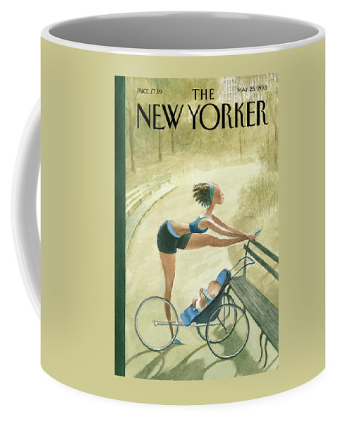 Children Coffee Mug featuring the painting Early Start by Carter Goodrich