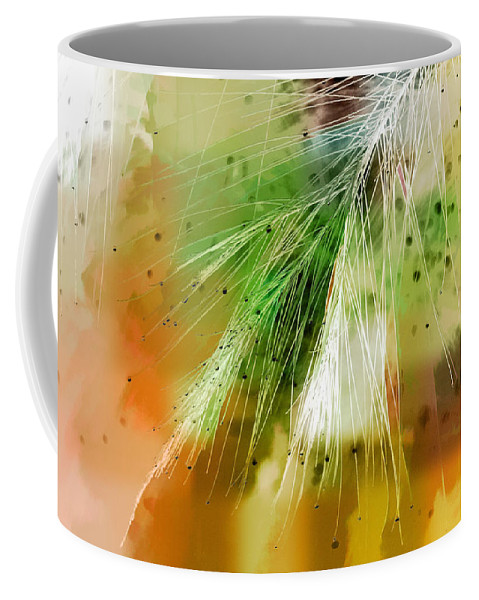 Abstract Coffee Mug featuring the photograph Earth Silk by Holly Kempe