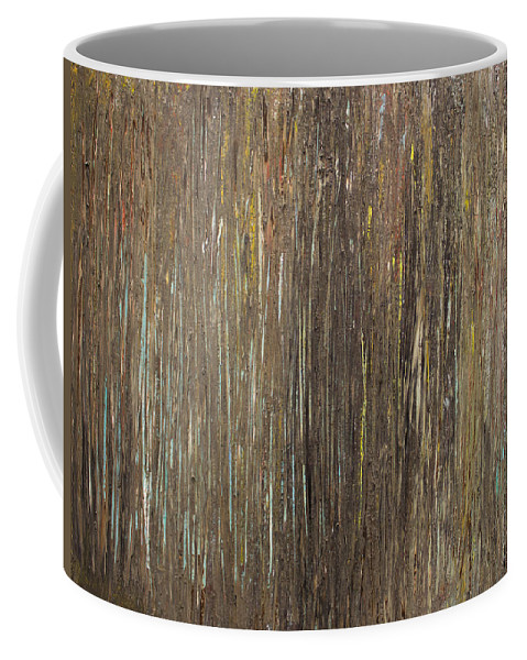 Derek Kaplan Art Coffee Mug featuring the painting Earth Wind And Fire Series Edition 2 Of 10 by Derek Kaplan