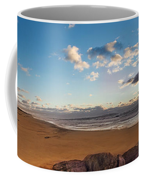 Sunrise Coffee Mug featuring the photograph East Hampton Sunrise by Jonathan Steele