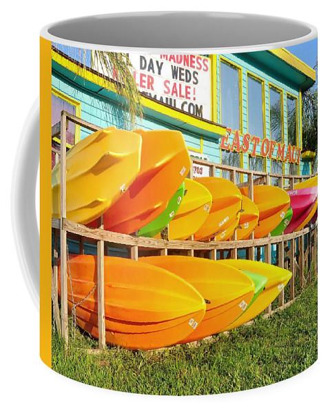 East Of Maui Coffee Mug featuring the photograph East Of Maui - Dewey Beach Delaware by Kim Bemis