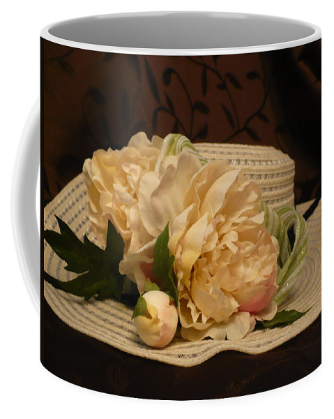 Easter Coffee Mug featuring the photograph Easter Bonnet by Nicki Bennett