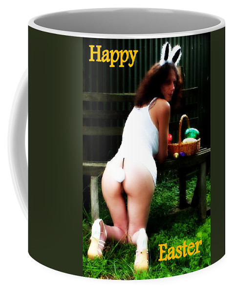 Hot Coffee Mug featuring the photograph Easter Card 2 by Guy Pettingell