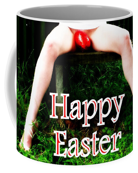 Hot Coffee Mug featuring the photograph Easter Card 3 by Guy Pettingell