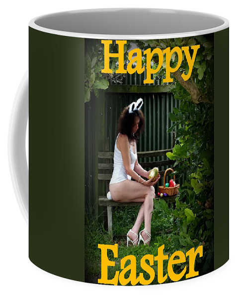 Hot Coffee Mug featuring the photograph Easter Card 4 by Guy Pettingell