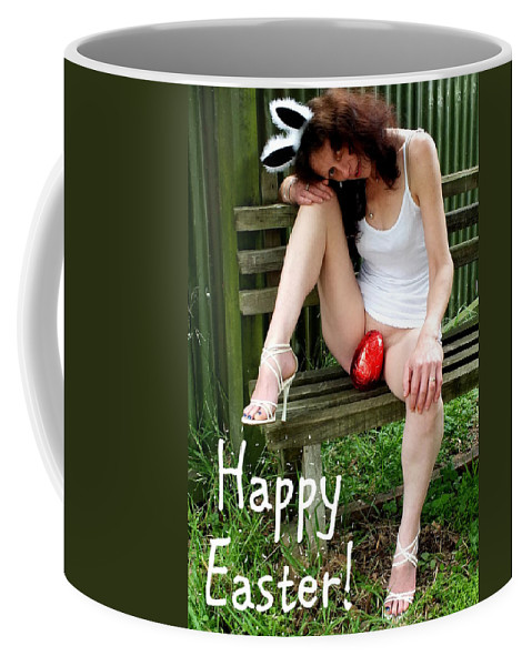 Hot Coffee Mug featuring the photograph Easter Card 5 by Guy Pettingell