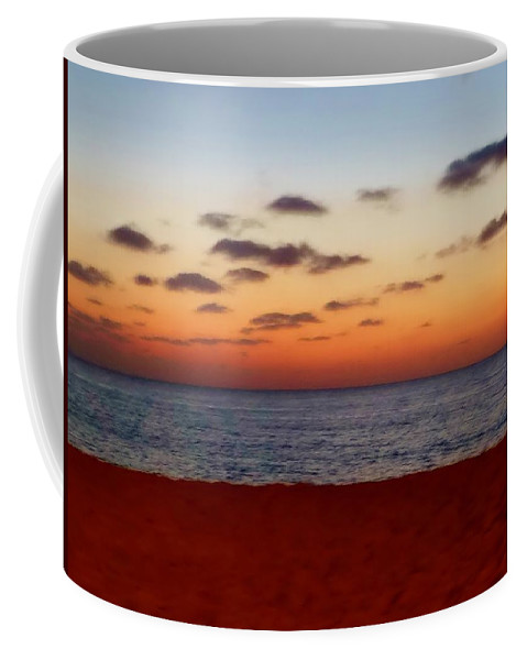 April Sunset Coffee Mug featuring the photograph Easter Sunset by Amar Sheow