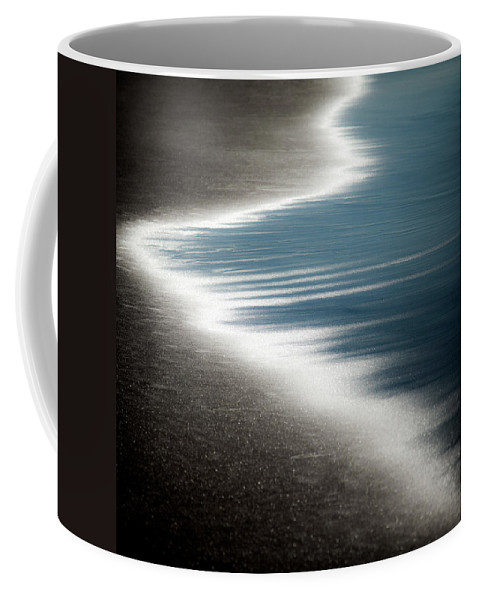 Beach Coffee Mug featuring the photograph Ebb And Flow by Dave Bowman