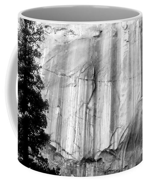 Black And White Photo Coffee Mug featuring the digital art Echo Canyon Bw by Tim Richards