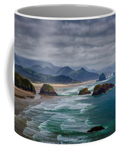 Oregon Coffee Mug featuring the photograph Ecola Viewpoint by Rick Berk