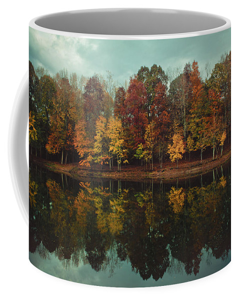 Fall Coffee Mug featuring the photograph Edge Of Autumn by Jessica Brawley