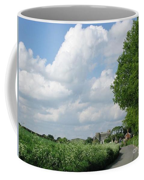 England Coffee Mug featuring the photograph Edge Of Town by Ann Horn