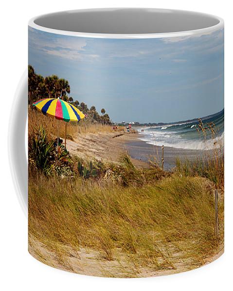 Edisto Coffee Mug featuring the photograph Edisto Beach By Jan Marvin by Jan Marvin